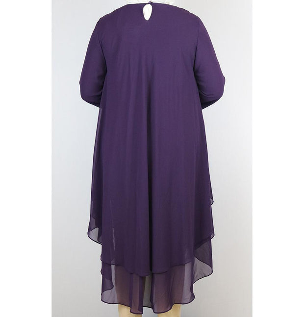 Loreen Tunic Loreen Modest Plus Size Tunic 9005 Purple