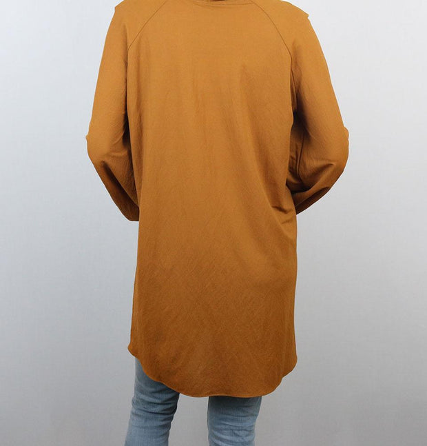 Loreen Tunic Loreen Modest Oversized Tunic 20086 Golden Brown