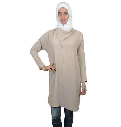 Loreen Tunic Loreen Modest Tunic 20123 Beige