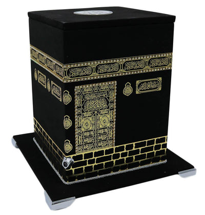 Modefa Book Holy Quran in Keepsake 3D Kaba Replica Case