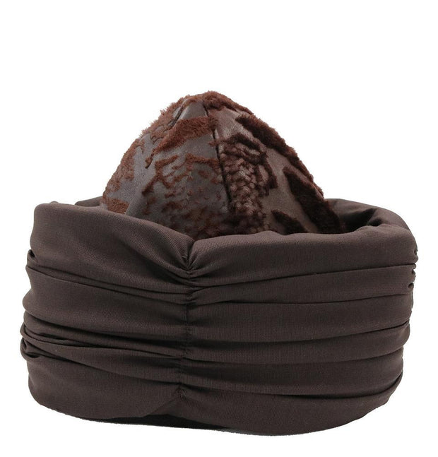 Modefa Bork Ottoman Bork Ertugrul Leather Hat with Band 2018C
