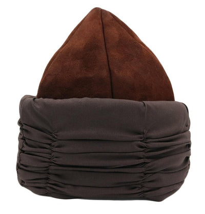 Modefa Bork Ottoman Bork Ertugrul Suede Leather Hat with Band 2018B