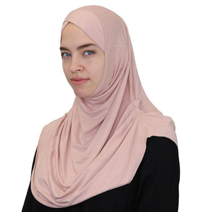 Modefa Instant Hijabs Blush Pink Modefa One Piece Instant Practical Hijab – Blush Pink