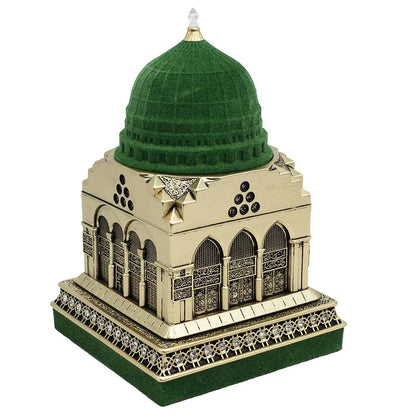 Modefa Islamic Decor Gold Al Masjid an Nabawi Medine Islamic Decor Replica - Gold