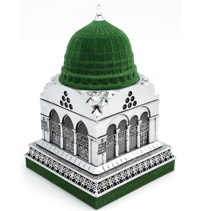 Modefa Islamic Decor Silver Al Masjid an Nabawi Medine Islamic Decor Replica - Silver