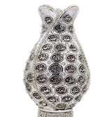 Modefa Islamic Decor Silver Islamic Table Decor 99 Names of Allah Tulip Egg Silver