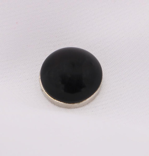 Modefa Magnetic pins Black Solid Glossy Magnetic Hijab Pin - Black
