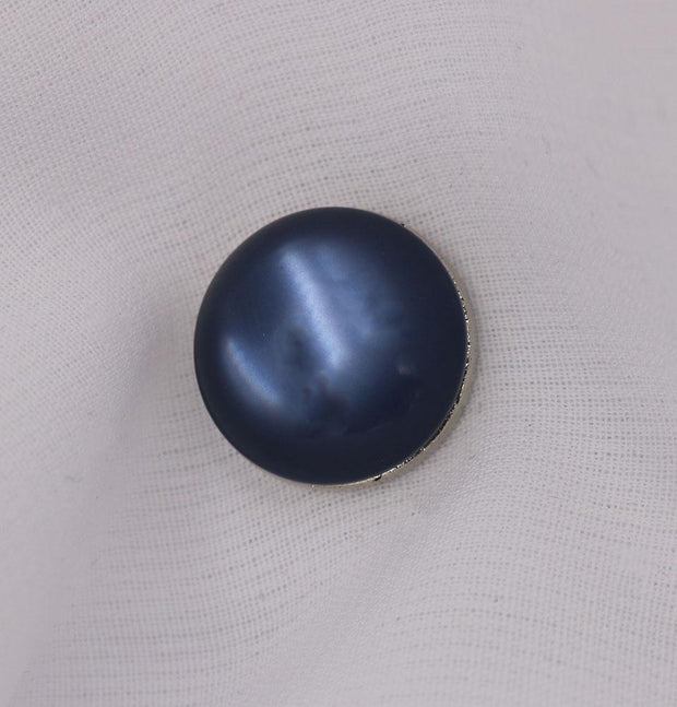 Modefa Magnetic pins Blue Solid Glossy Magnetic Hijab Pin - Blue