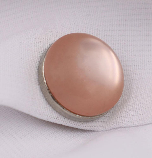 Modefa Magnetic pins Light Pink Solid Glossy Magnetic Hijab Pin - Light Pink
