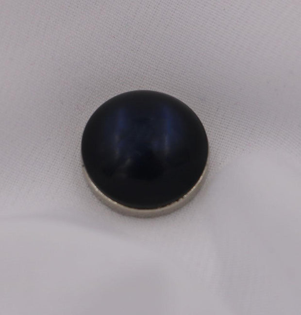 Modefa Magnetic pins Navy Blue Solid Glossy Magnetic Hijab Pin - Navy Blue