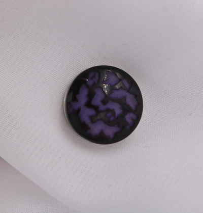 Abstract Magnetic Hijab Pin Purple