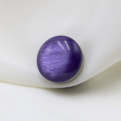 Modefa Magnetic pins Purple Brushed Gloss Magnetic Hijab 'Pin' - Purple