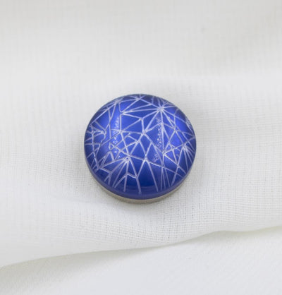 Modefa Magnetic pins Royal Blue Star Crossed Magnetic Hijab 'Pin' - Royal Blue
