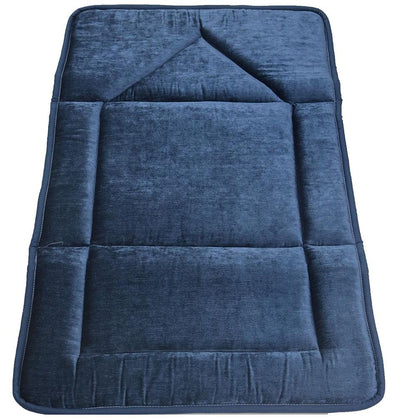 Modefa Prayer Rug Blue Foldable Orthopedic Foam Islamic Prayer Rug - Blue