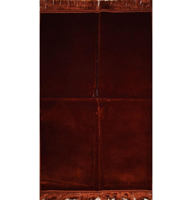 Modefa Prayer Rug Bronze Solid Simple Velvet Prayer Rug - Bronze