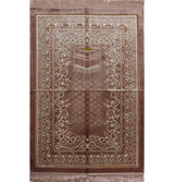 Modefa Prayer Rug Double Plush Wide Extra Large Prayer Rug - Rose Pink