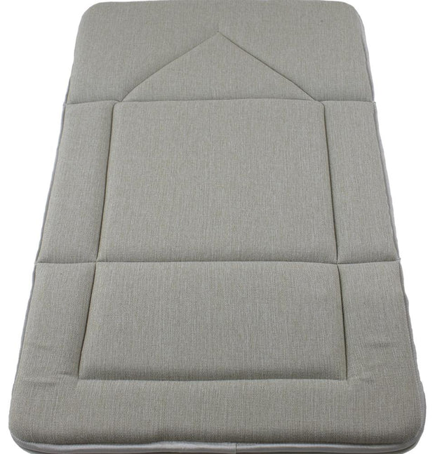 Modefa Prayer Rug Foldable Orthopedic Foam Islamic Prayer Rug - Beige