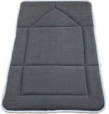 Modefa Prayer Rug Foldable Orthopedic Foam Islamic Prayer Rug - Charcoal