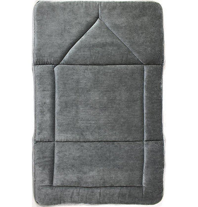 Modefa Prayer Rug Foldable Orthopedic Foam Islamic Prayer Rug - Grey Stone