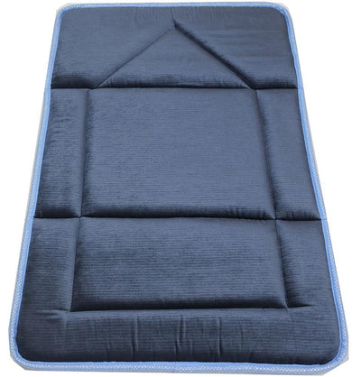 Modefa Prayer Rug Navy Blue Foldable Orthopedic Foam Islamic Prayer Rug - Navy Blue