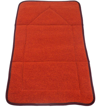 Modefa Prayer Rug Orange Foldable Orthopedic Foam Islamic Prayer Rug - Orange