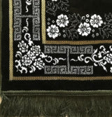 Modefa Prayer Rug Plush Ipek Prayer Rug Green Floral