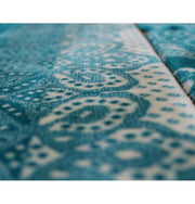 Double Plush Wide Extra Large Prayer Rug - Turquoise