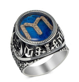 Modefa ring Men's Silver Turkish Ertugrul IYI Ring