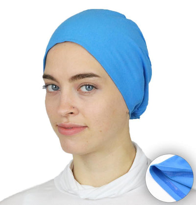 Modefa Non-Slip Cotton Bonnet - Blue