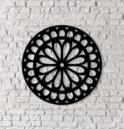 Islamic Art Metalwork Geometric Design - Damla