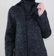 Puane Outerwear Puane Hooded Wool Touch Coat 904501 Black