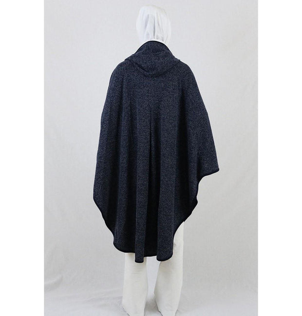 Puane Pancho One-Size / Blue Puane Hooded Poncho 9022 Blue