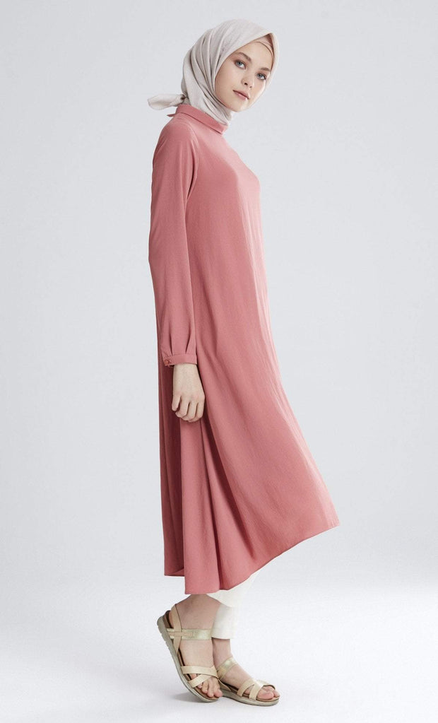 Tugba Modest Tunic M5165 Rose Gold