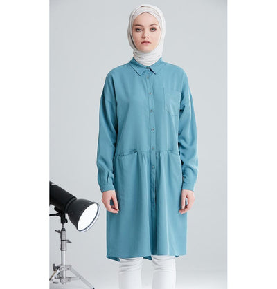 Tugba Modest Tunic M6643 Teal