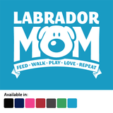 Labrador Mom T-Shirt - Logo