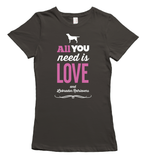All You Need is Labradors T-Shirt - Gray