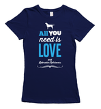 All You Need is Labradors T-Shirt - Navy
