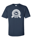 Certified Labrador Lover T-Shirt - Navy