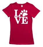 Labrador Lovers T-Shirt - Red