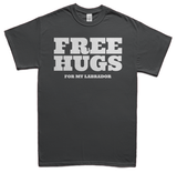 Free Hugs for Labradors T-Shirt - Gray