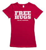 Free Hugs for Labradors T-Shirt - Red