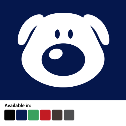 Cartoon Labrador Face - Men's T-Shirt