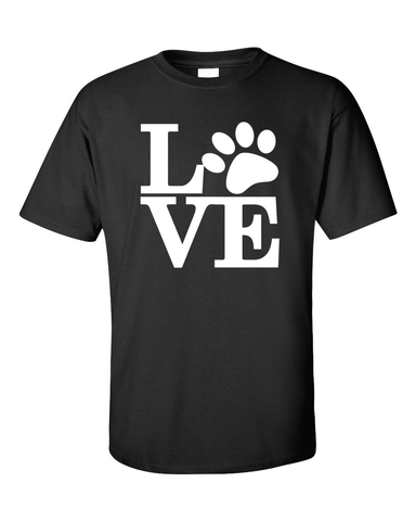 Dog Lovers T-Shirt - Black
