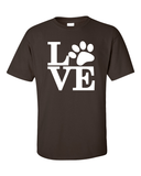Dog Lovers T-Shirt - Chocolate