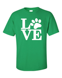 Dog Lovers T-Shirt - Green
