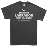 One more Labrador t-shirt - gray
