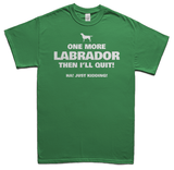 One more Labrador t-shirt - green