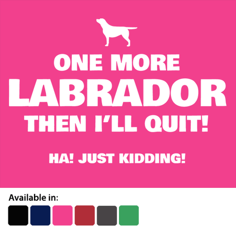 One more Labrador t-shirt - Logo