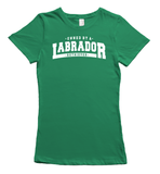Owned by a Labrador t-shirt - Green