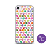 Cute Dog Paws iPhone Cases
